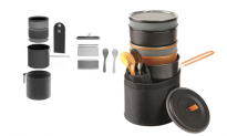First We Eat Unisex Two Pocket Adjustable Apron, 18.95, Groupon,