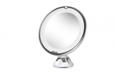 Cosprof 8-Inch Diameter 10X Magnifying Two Sided Vanity Makeup Mirror, 26.99, Groupon,
