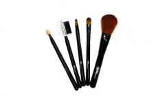 Caramel Dream Makeup Brush Set, 5.99, Groupon,