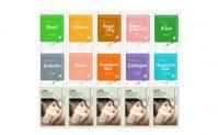 Korean Beauty Cosmetic Facial Mask Pack Sheet Skin Care Mask 30 Packs, 19.4, Groupon,