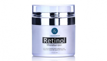 Retinol Moisturizer Cream for Face and Eye with 2.5% Retinol, 10.99, Groupon,