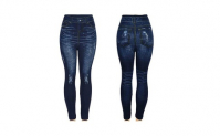Seamless Jeggings Jean Leggings Docele, 7.99, Groupon,