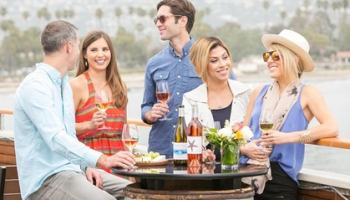 Self-Guided Santa Barbara Funk Zone Uncorked Wine Trail, 53.99, Groupon,