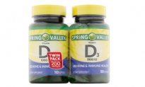 Spring Valley Vitamin D3 Dietary Supplement Softgels (2 Pack),5.95, Groupon,