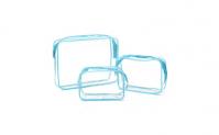 Transparent Cosmetic Bag PVC Travel Organizer Makeup Storage Wash Case, 13.99, Groupon,