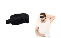 Travel 3D Eye Mask Sleep Soft Padded Shade Cover Relax Sleeping Aid,5.98, Groupon,