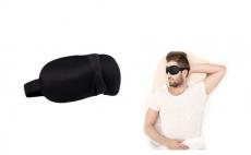 Travel 3D Eye Mask Sleep Soft Padded Shade Cover Relax Sleeping Aid,5.98, Groupon,