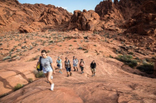 Valley of Fire Hiking Tour from Las Vegas, 118.99, Groupon,
