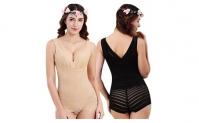 Women Hip Lifter Seamless Waist Trainer Fat Burner Shapewear Bodysuit,12.99, Groupon,