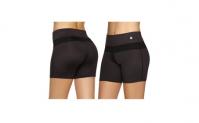 Women Sports Gym Yoga Shorts with Drawstring, 9.99, Groupon,